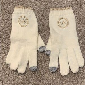 Michael Kors gloves and scarf